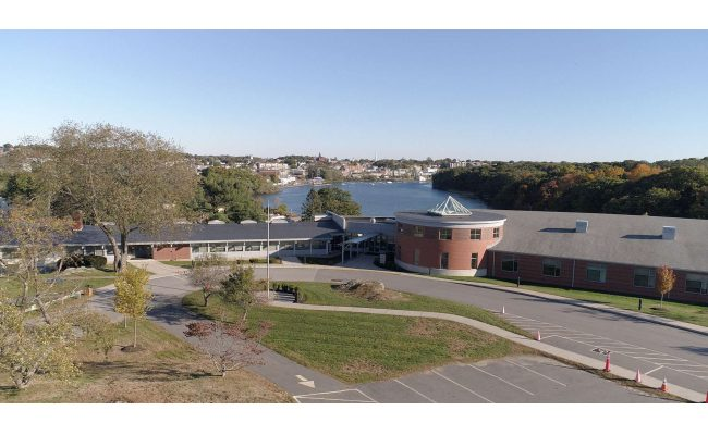 Aerial view of CCCBSD