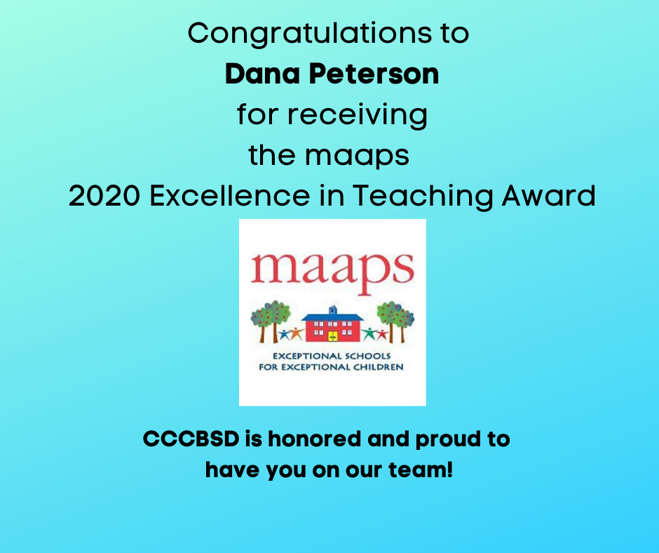maaps excellence in teaching award